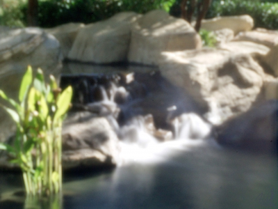 Contemplation Pool Water Fall