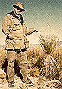 Parker E.C. Bradley & Yucca Plant