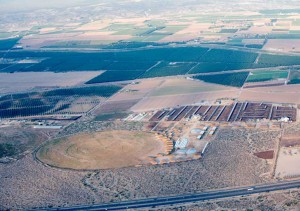 Farming operation just outside of Las Cruces, NM on the way to the Spaceport Fly-In